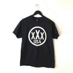 10 Deep Graphic Tee Shirt XXX USA Crew Streetwear